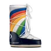 Tecnica Rainbow MoonBoot Womens Boots, Blue-White, medium