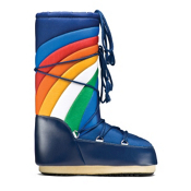 Tecnica Rainbow MoonBoot Womens Boots, Blue, medium