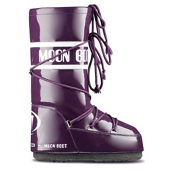 Tecnica Vinyl MoonBoot Womens Boots, Violet, medium