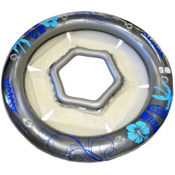 Rave 96in Social Circle Lounge Inflatable Raft 2013, , medium
