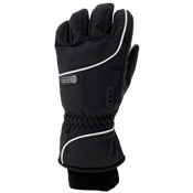 Grandoe Element Gloves, Black-White, medium