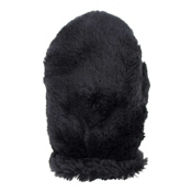 Grandoe Fuzzies Toddlers Mittens, Black, medium