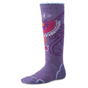 SmartWool Medium Full Cushion Girls Snowboard Socks, Lavander, medium