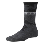 SmartWool Reflections Leaf Womens Socks, Charcoal Heather, medium