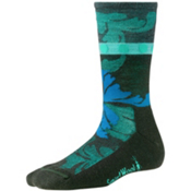 SmartWool Reflections Leaf Womens Socks, Forest, medium