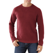SmartWool Granite Creek Crew Mens Sweater, Mahogany, medium