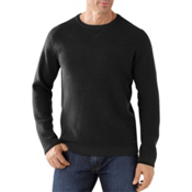 SmartWool Granite Creek Crew Mens Sweater, Black, medium
