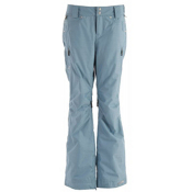 Oakley GB Favorite Insulated Womens Snowboard Pants, Solar Blue, medium