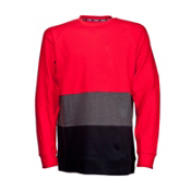 Nomis Era Long Sleeve Jersey Shirt, Electric Red, medium