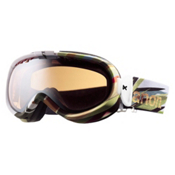 Anon Solace Womens Goggles, Splinter-Silver Amber, medium