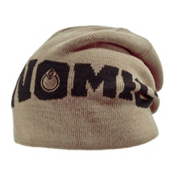 Nomis Knited Logo Hat, Clay, medium