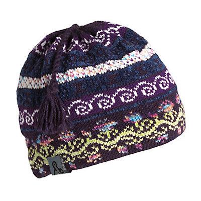 Turtle Fur Lady Fairisle Tassel Ski Womens Hat, , large