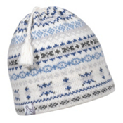 Turtle Fur Chamonix Tassel Ski Hat, White, medium