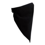 Turtle Fur Polartec Windbloc Neckdana Bandana, Black, medium