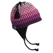 Turtle Fur Vermontur Earflap Chroma Ski Hat, Light Pink, medium
