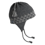 Turtle Fur Vermontur Earflap Egypt Ski Hat, Charcoal, medium