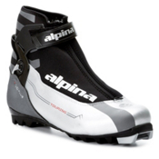 Alpina T10 NNN Cross Country Ski Boots 2013, Charcoal-Black-Red, medium