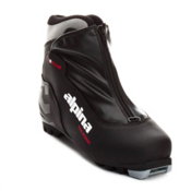 Alpina T5 Plus NNN Cross Country Ski Boots 2013, Black-Silver-Red, medium