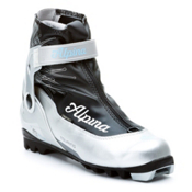 Alpina T20 Eve Plus Womens NNN Cross Country Ski Boots 2013, Silver-Black-Blue, medium