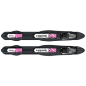 Alpina NIS Combi NNN Cross Country Ski Bindings 2013, Black, medium