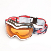 Oakley Stockholm Womens Goggles 2013, Snowtrac White Blue-Persimmon, medium