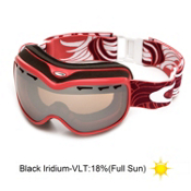 Oakley Stockholm Womens Goggles 2013, Sunset Plume-Black Iridium, medium