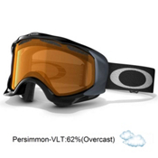 Oakley Twisted Goggles 2013, Jet Black-Persimmon, medium
