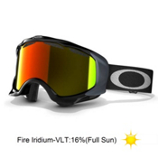 Oakley Twisted Goggles 2014, Jet Black-Fire Iridium, medium