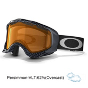Oakley Twisted Goggles 2014, True Carbon Fiber-Persimmon, medium