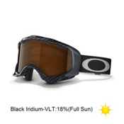 Oakley Twisted Goggles 2014, True Carbon Fiber-Black Iridium, medium