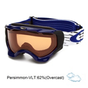 Oakley Twisted Goggles 2014, X Weave Blue-Persimmon, medium