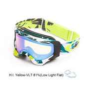 Oakley Twisted Goggles 2014, Glacier Blue Green-H.i. Yellow, medium