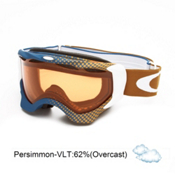 Oakley Twisted Goggles 2013, Half Tone Blue Gold-Persimmon, medium