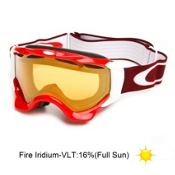 Oakley Twisted Goggles 2014, Viper Red-Fire Iridium, medium