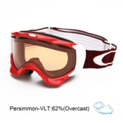 Oakley Twisted Goggles 2014, Red Rhone-Persimmon, medium
