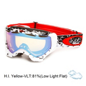 Oakley Twisted Goggles 2013, Pixel Fade Red-H.i. Yellow, medium