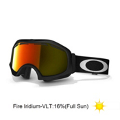 Oakley Catapult OTG Goggles 2014, Matte Black-Fire Iridium, medium