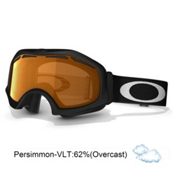 Oakley Catapult OTG Goggles 2014, Matte Black-Persimmon, medium