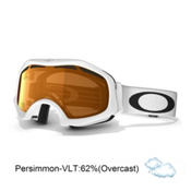 Oakley Catapult OTG Goggles 2014, Matte White-Persimmon, medium