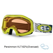 Oakley Catapult OTG Goggles 2013, Lightning Green-Persimmon, medium