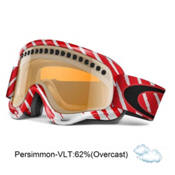 Oakley XS O Frame Shaun White Kids Goggles 2013, Highlight Red White-Persimmon, medium