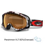 Oakley Crowbar Seth Morrison Goggles 2013, Mountain Reaper-Persimmon, medium