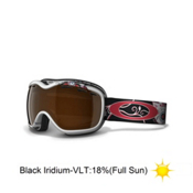 Oakley Stockholm Caia Koopman Womens Goggles 2013, Kitty Skull-Black Iridium, medium