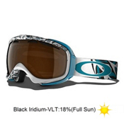 Oakley Elevate Jenny Jones Womens Goggles 2013, Feather Plume-Black Iridium, medium