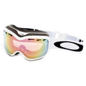 Oakley Stockholm Alternative Fit Womens Goggles 2014, Pearl White-Vr50 Pink Iridium, medium