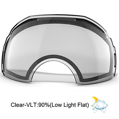Oakley Airbrake Goggle Replacement Lens 2018, Clear, viewer