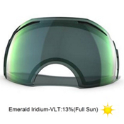 Oakley Airbrake Emerald Iridium Goggle Replacement Lens 2014, Emerald Iridium, medium