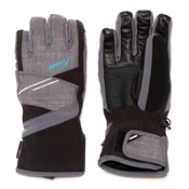 Kombi Minx Kids Gloves, Black-Gray Haze, medium