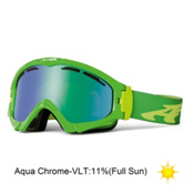 Arnette Series 3 Ski Goggles 2013, Green Apple Candy-Aqua Chrome, medium