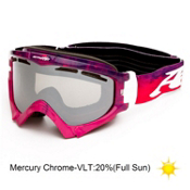 Arnette Series 3 Ski Goggles 2013, Watercolor Violet Pink-Mercury, medium
